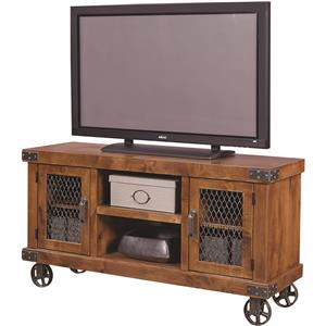 "Morris Home Furnishings Industrial 55"" Console"