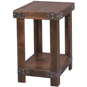 Aspenhome Industrial Chairside Table