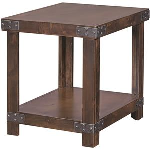 Aspenhome Industrial End Table