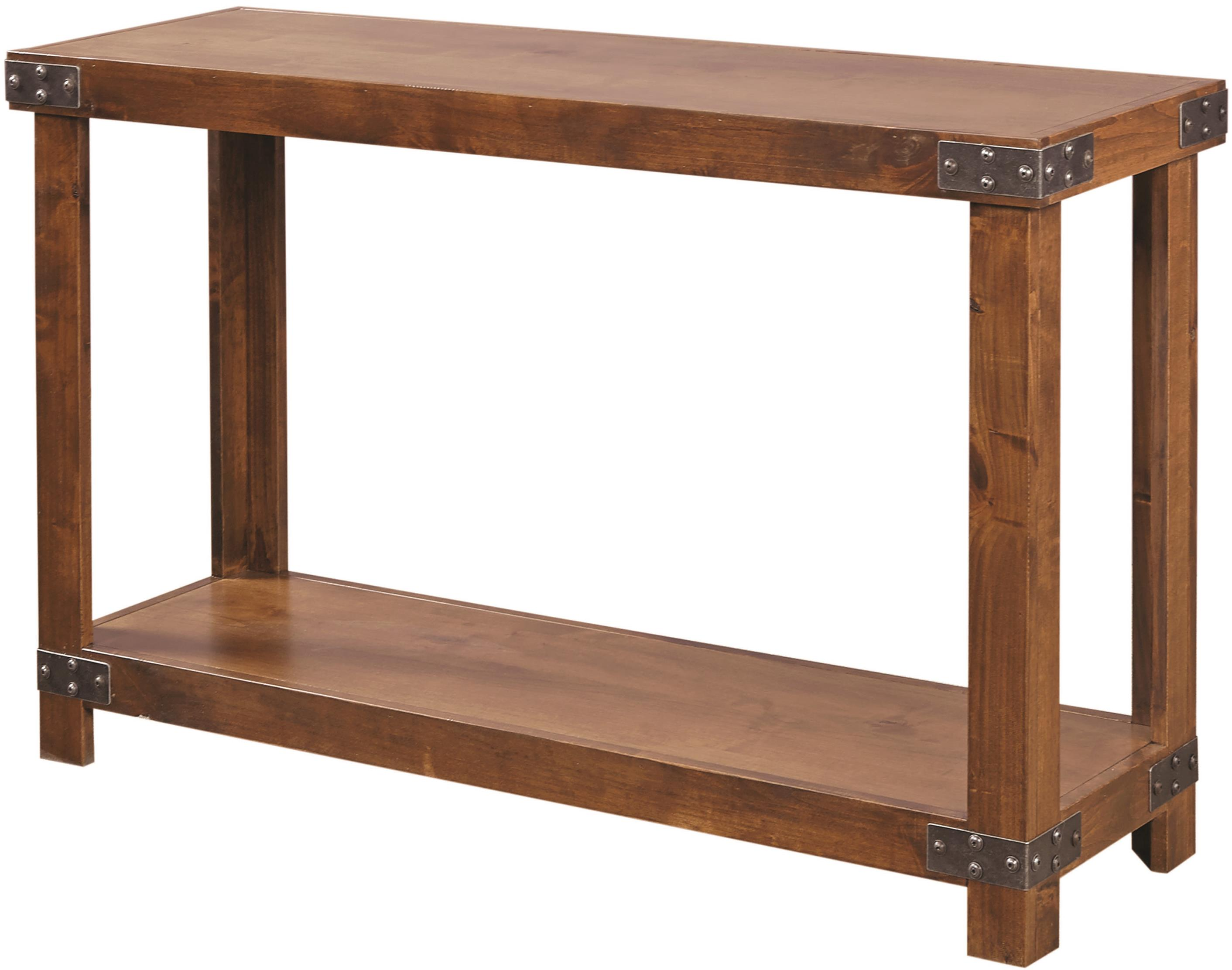 Aspenhome Industrial Sofa Table  - Item Number: DN915-FRT