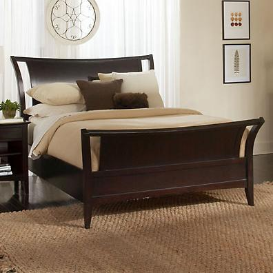 Aspenhome Kensington  King Sleigh Bed - Item Number: IKJ-404+405+406L