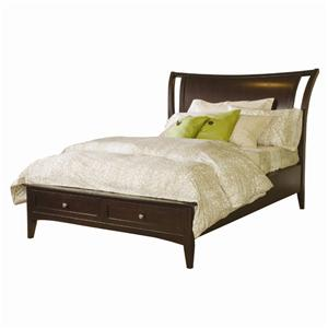 Morris Home Kensington  Queen Storage Bed