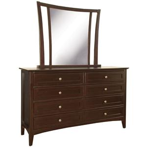 Morris Home Furnishings Kensington  Dresser & Mirror