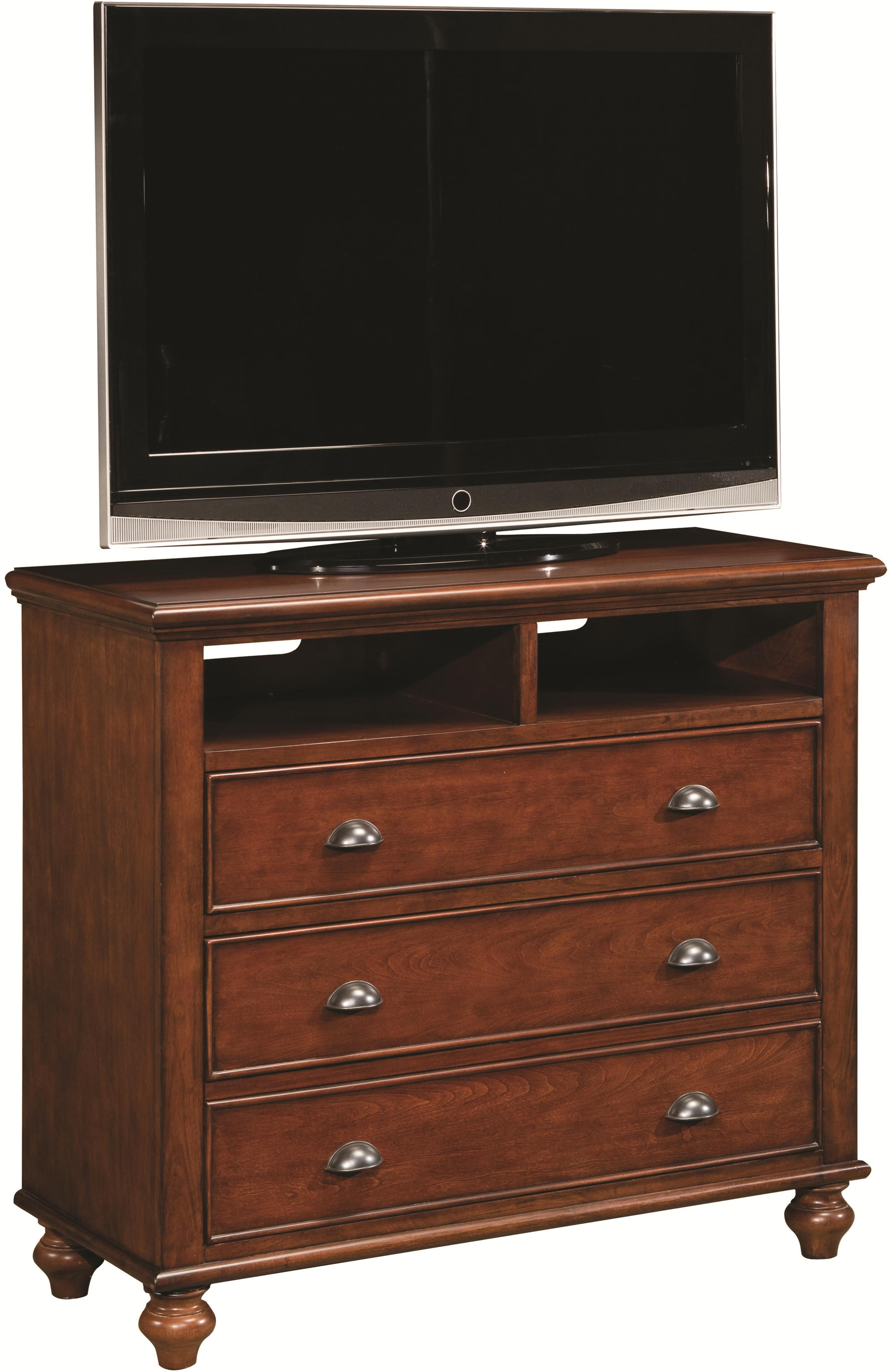 Aspenhome Madison Entertainment Chest - Item Number: IA200-485-BRH
