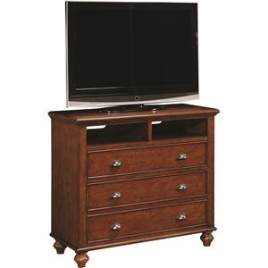 Morris Home Furnishings Madison Entertainment Chest