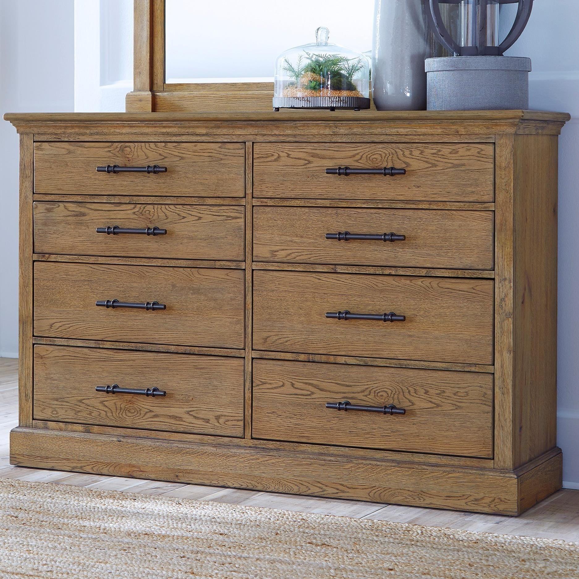 Mansfield 8 Drawer Dresser