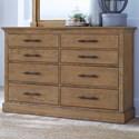 Aspenhome Mansfield Mansfield 8 Drawer Dresser - Item Number: IMA-454-GLZ