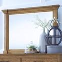 Highland Court Mansfield Mansfield Beveled Dresser Mirror - Item Number: IMA-462-GLZ