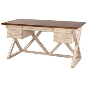"Aspenhome Modern Farmhouse 60"" Writing Desk"