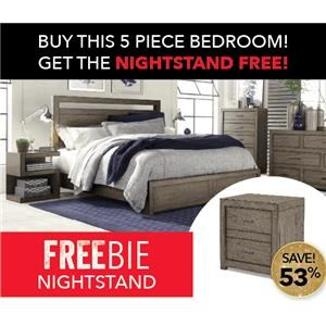 Moreno Bedroom Group with FREE NIGHTSTAND