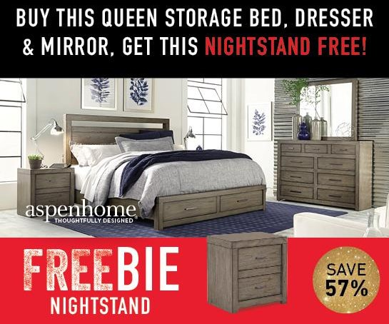 Moreno Moreno Queen Bedroom Package with FREEBIE! by Aspenhome at Morris Home