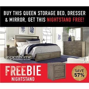 Moreno Queen Bedroom Package with FREEBIE!