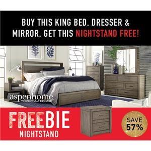 Moreno King Bedroom Package with FREEBIE!