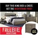 Aspenhome Moreno Moreno King Bedroom Group with Freebie! - Item Number: 835943345