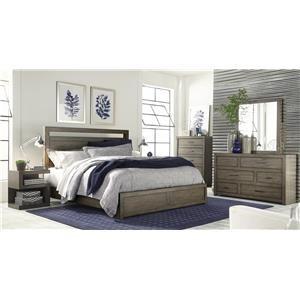 Hills of Aspen Modern Loft 4-Piece Queen Bedroom Set
