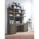 Aspenhome Modern Loft Credenza and Hutch - Item Number: IML-318+319