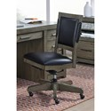 Aspenhome Moreno Moreno Office Chair - Item Number: IML-366-GRY