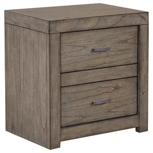 Morris Home Furnishings Moreno Moreno 2 Drawer Nightstand with Power