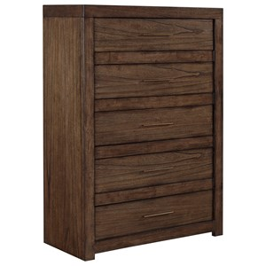 Aspenhome Modern Loft 5 Drawer Chest