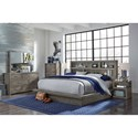 Aspenhome Modern Loft Queen Bedroom Group - Item Number: IML-GRY Q Bedroom Group 4