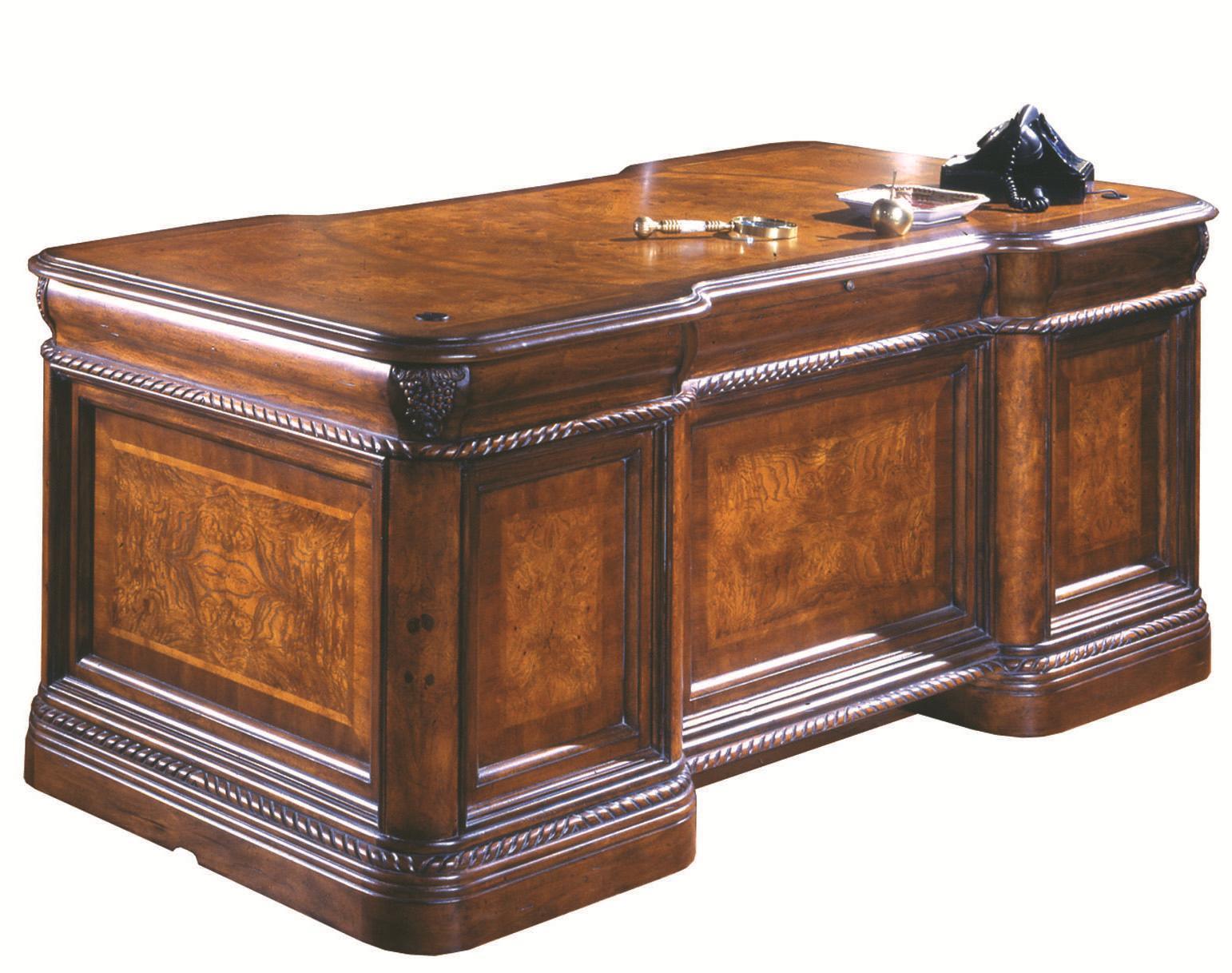 Aspenhome Napa  Napa 72-Inch Executive Desk  - Item Number: I74-300