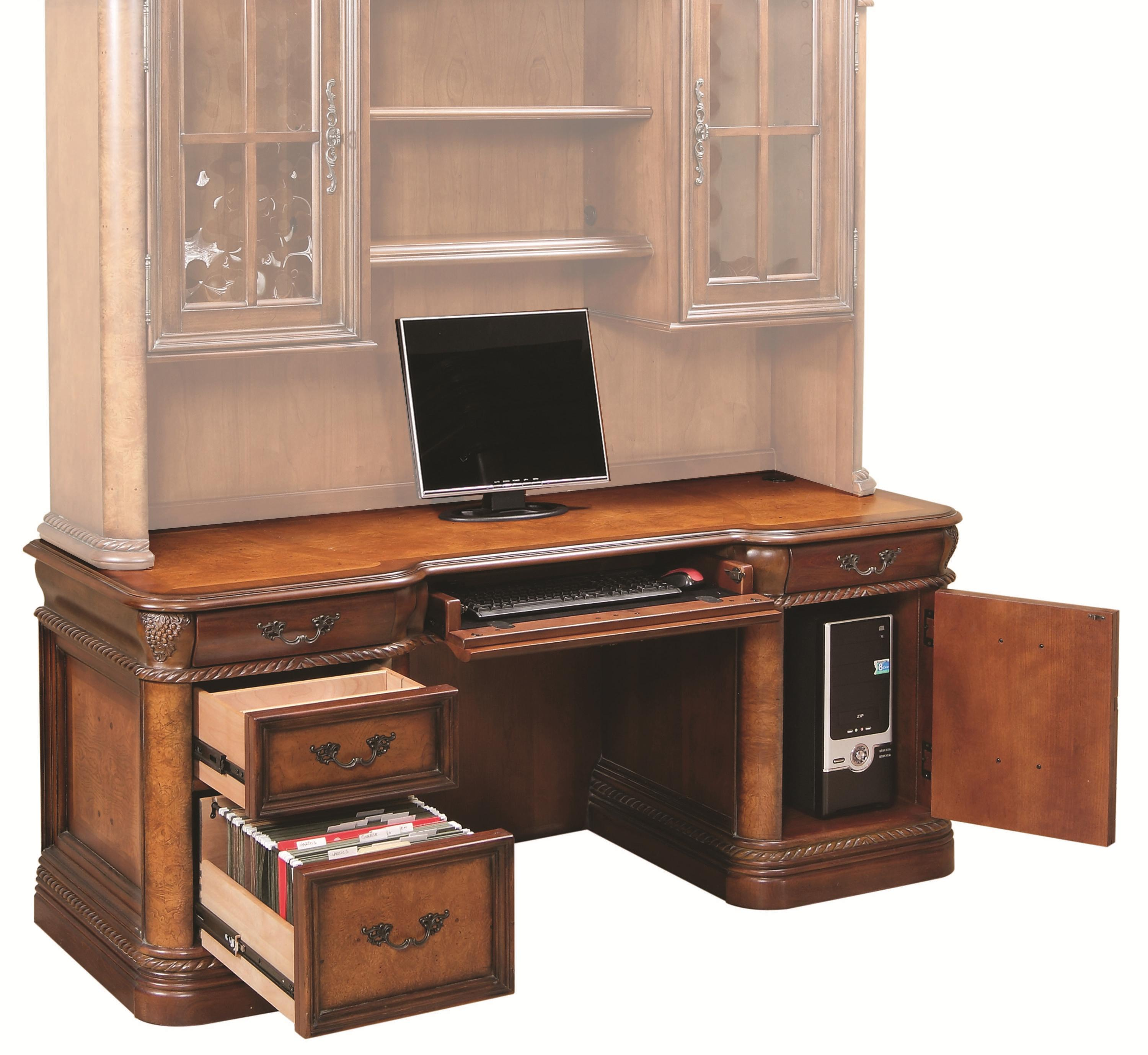 Aspenhome Napa  Double Pedestal Desk - Item Number: I74-322