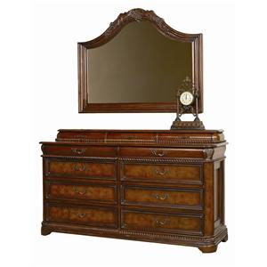 Aspenhome (Clackamas Store Only) Napa  Master Dresser & Mirror Combo