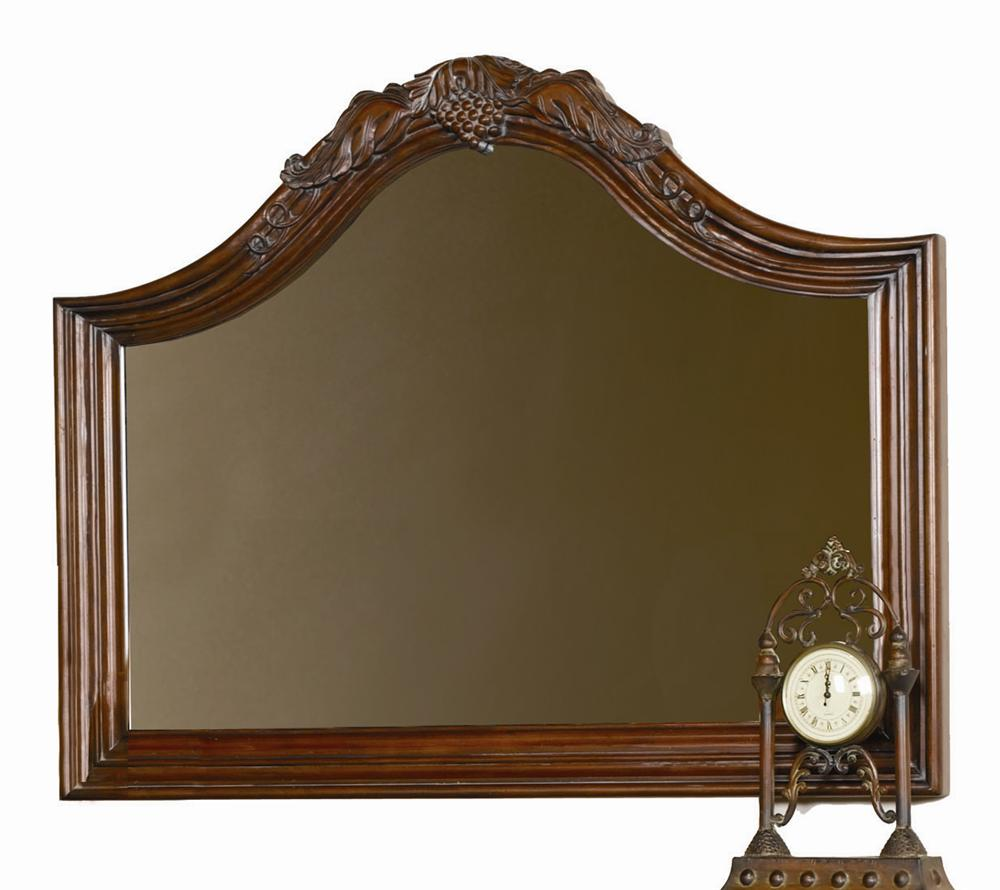 Aspenhome Napa  Arched Landscape Mirror - Item Number: I74-463