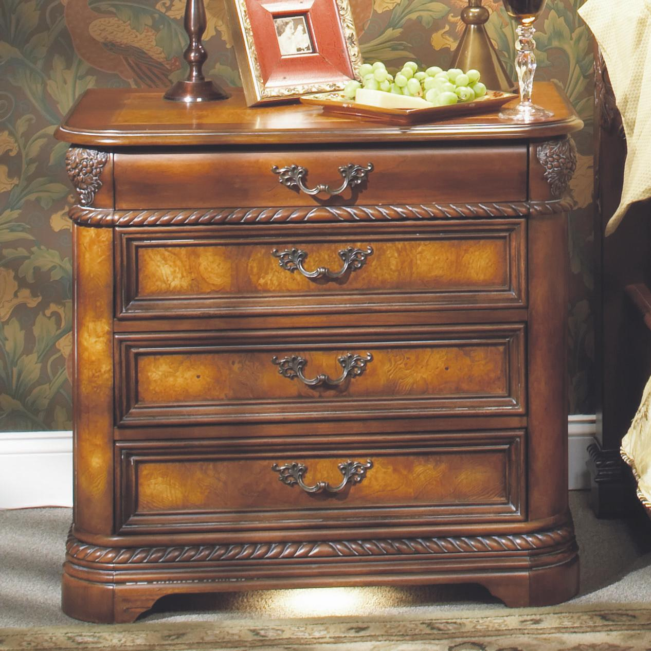Aspenhome Napa I74 9450 3 Liv360 Nightstand With Pullout Tray Baer 39 S Furniture Night Stand