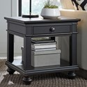 Aspenhome Oxford End Table - Item Number: 107-9140-BLK