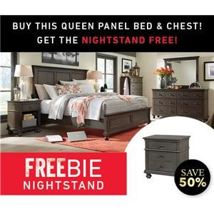 Oakford Queen Bed Set with Freebie!