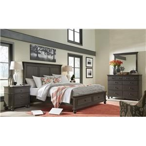 Hills of Aspen Oxford 4-Piece King Bedroom Set