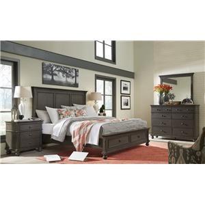 Aspenhome Oxford 4-Piece Queen Bedroom Set