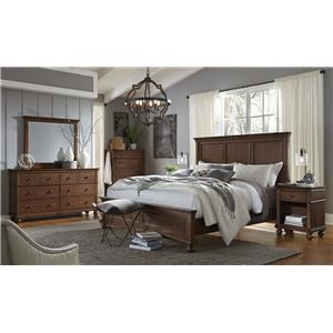 Hills of Aspen Oxford 4-Piece Queen Bedroom Set