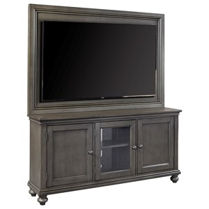"Aspenhome Oxford 65"" TV Stand With Backer"