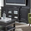 "Aspenhome Oxford 75"" Console  - Item Number: I07-272-BLK"