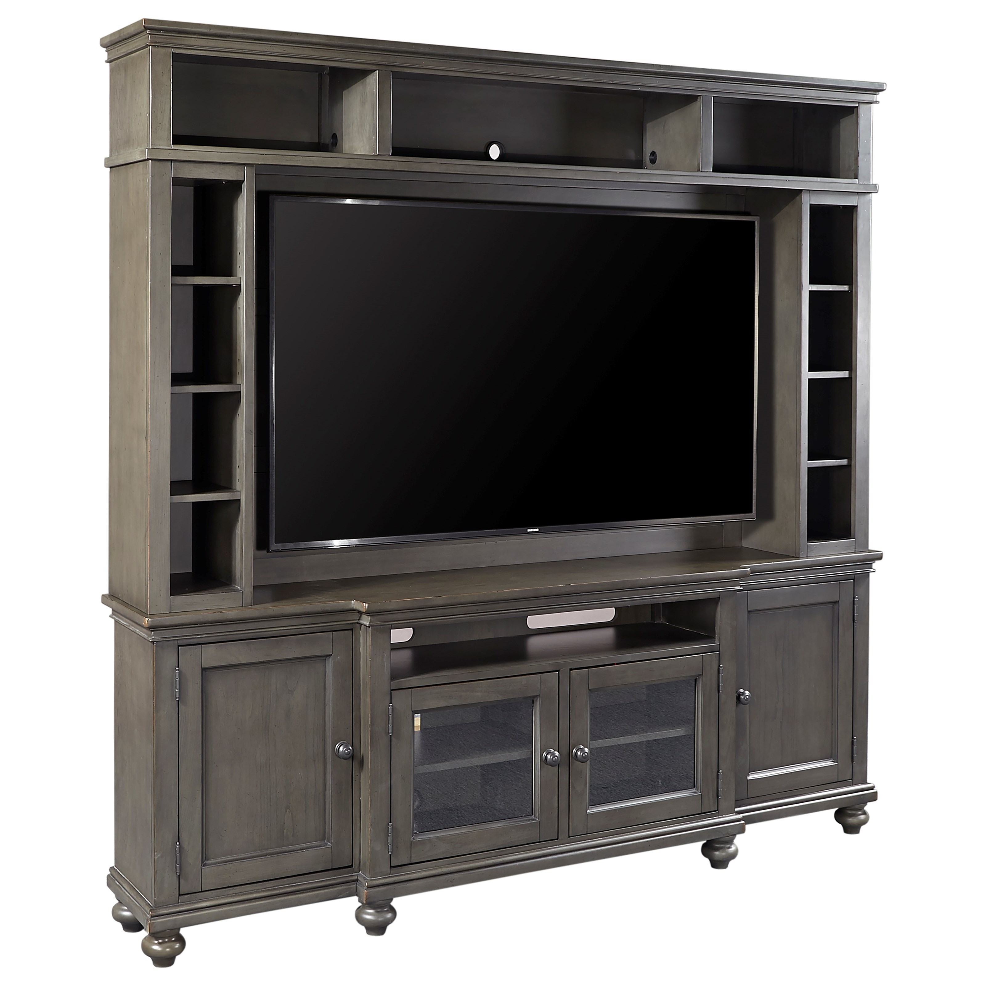 "Oxford 86"" Console and Hutch  by Aspenhome at Stoney Creek Furniture"