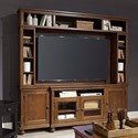 "Aspenhome Oxford 86"" Console and Hutch  - Item Number: I07-284+284H-WBR"
