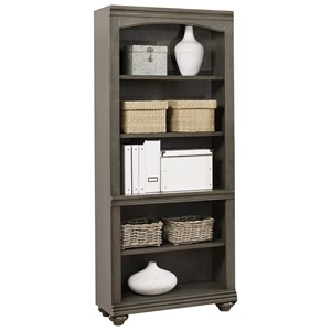 Aspenhome Oxford Open Bookcase