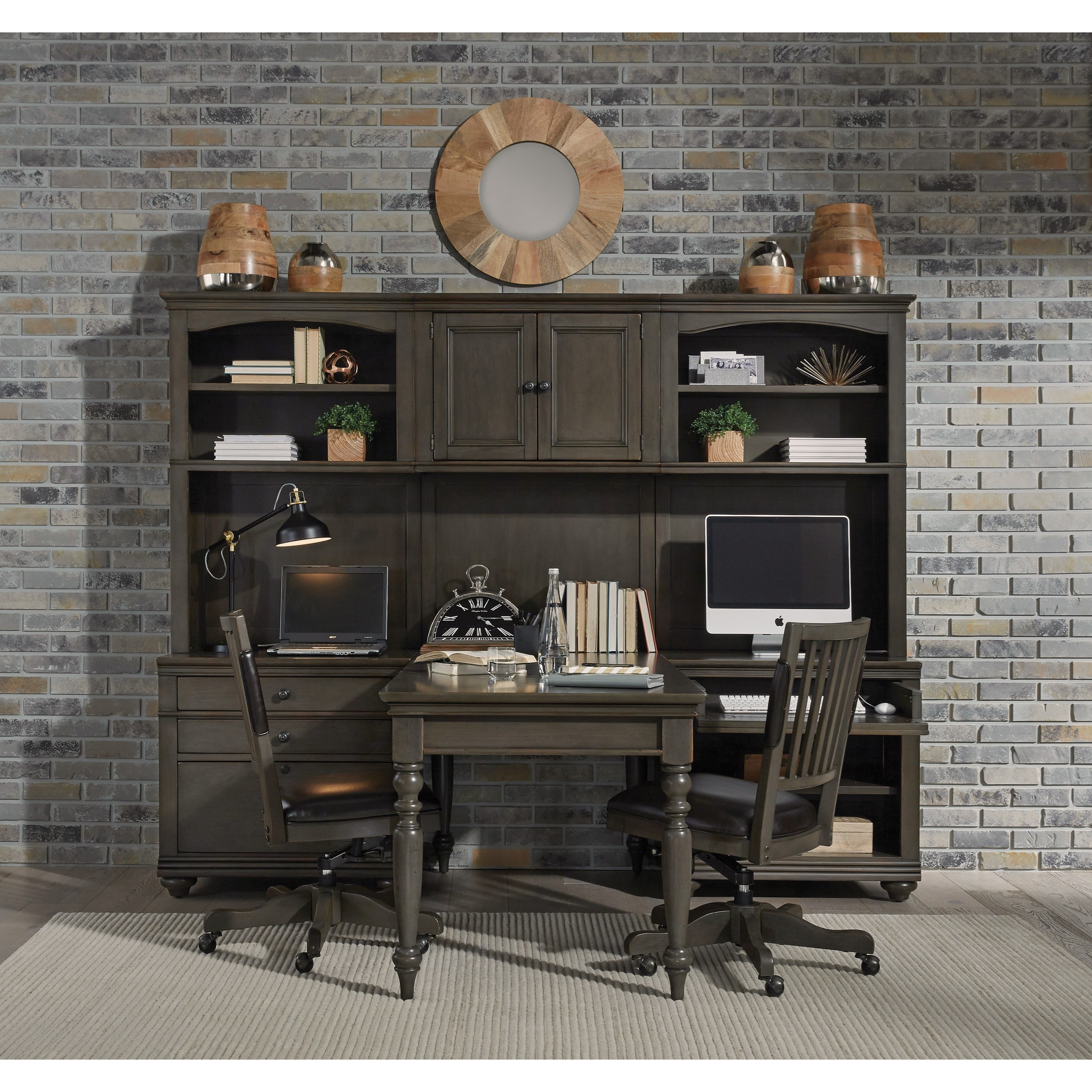 Modular Home Office Wall Unit