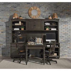 Aspenhome Oxford Modular Home Office Wall Unit