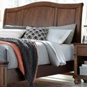 Aspenhome Oxford Queen Sleigh Headboard - Item Number: I07-400-WBR