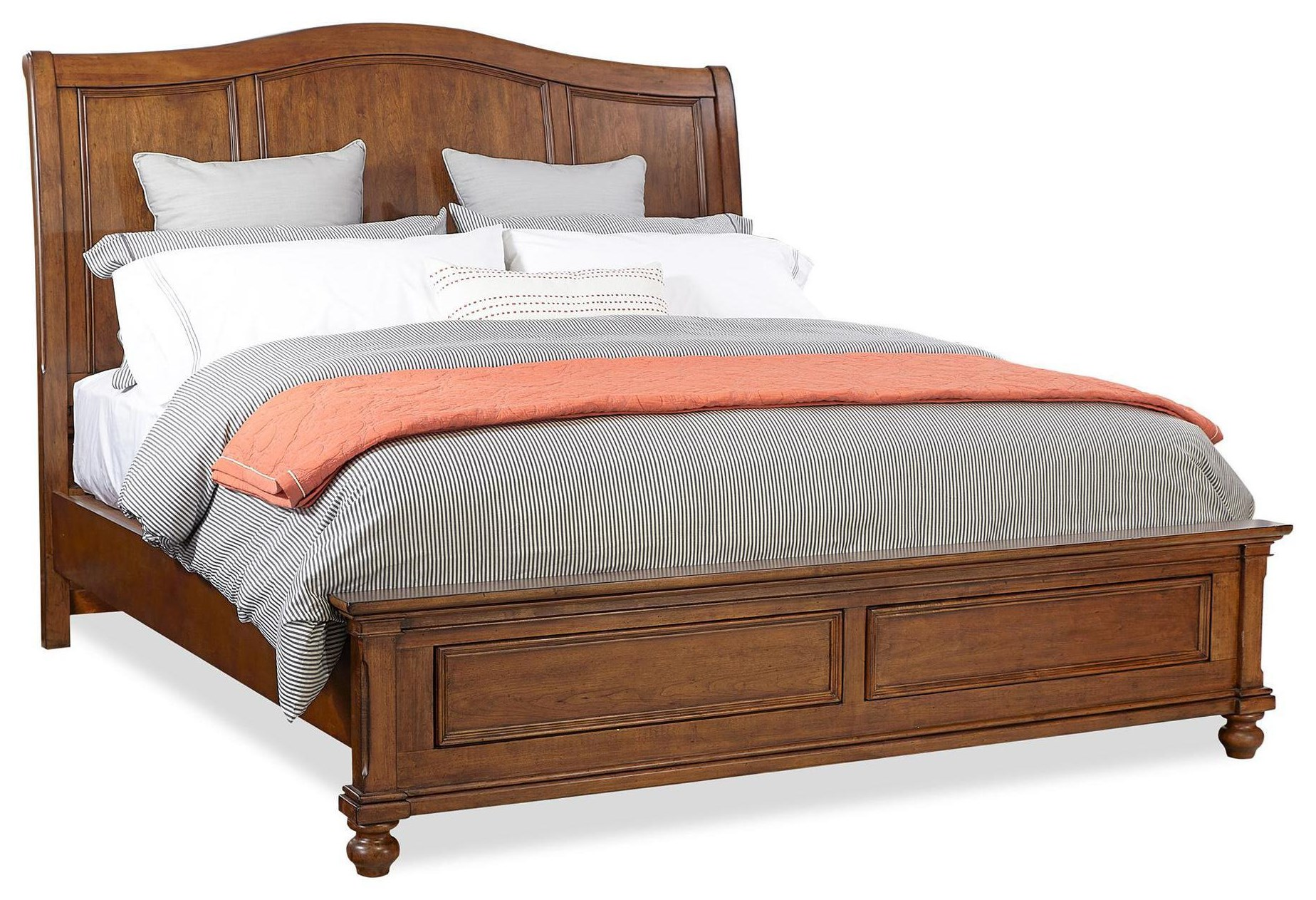 Oxford Queen Bed by Aspenhome at HomeWorld Furniture