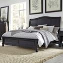 Aspenhome Oxford Cal King Bed - Item Number: I07-404+407+410-BLK