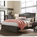Aspenhome Oxford California King Sleigh Bed - Item Number: I07-404+407+410-PEP