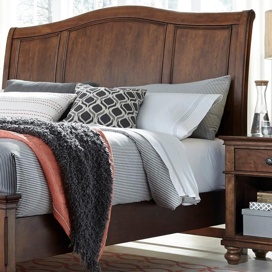 Oxford King Sleigh Headboard by Aspenhome at Stoney Creek Furniture