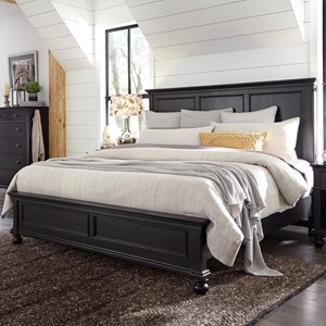 Highland Court Oxford Oakford Queen Panel Bed
