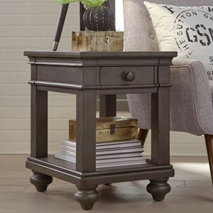 Aspenhome Oxford Chairside Table