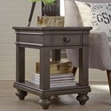 Aspenhome Oxford Chairside Table - Item Number: I07-9130-PEP