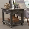 Aspenhome Oxford End Table - Item Number: I07-9140-PEP